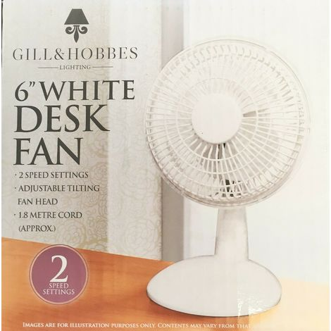 """FUSE CHANGE-6"""" Stand/Desk Fans Oscillating/Rotating-Electric Portable Cooling Fans"""