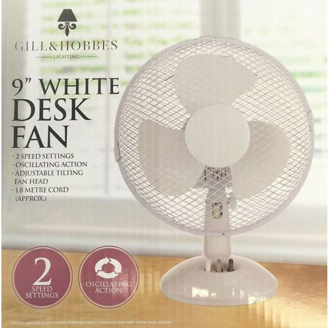 """FUSE CHANGE-9"""" Stand/Desk Fans Oscillating/Rotating-Electric Portable Cooling Fans"""
