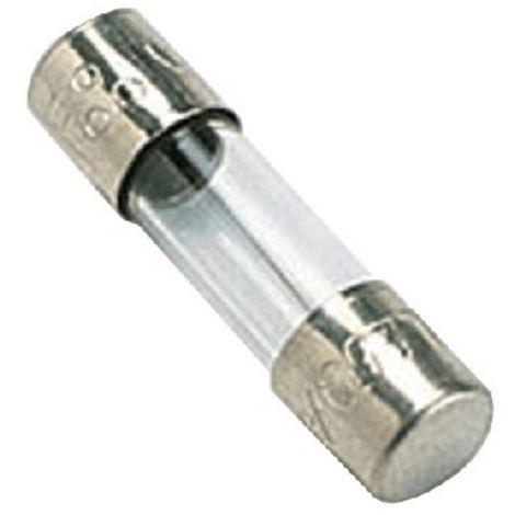 fusibile di vetro 6.3x32 mm 0.5a rapido 500ma 24186