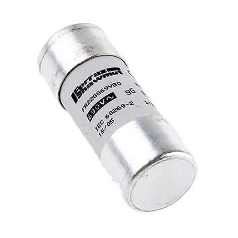 Fusible cilíndrico 22x58 T2 50A sin indicador Ferraz P214626J
