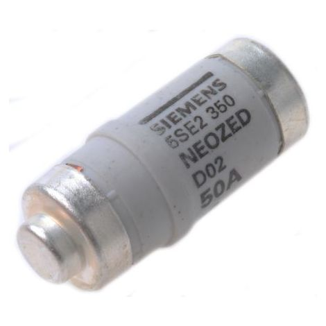 Fusible NEOZED D02 50A 400V SIEMENS 5SE2350