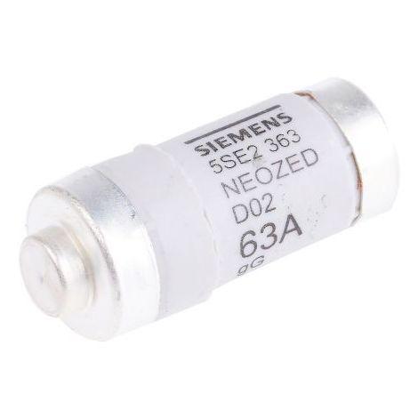 Fusible NEOZED D02 63A 400V SIEMENS 5SE2363