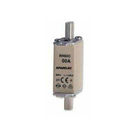 Fusible NH00 100A 500/690VAC - 50/60hZ para base BUC