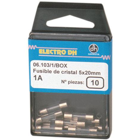 Fusibles de cristal para Fusibles de 5 x 20 mm Electro Dh 06.103/16/BOX 8430552086771