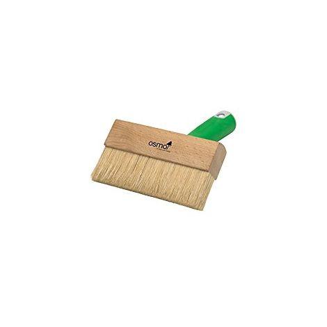 Fußbodenstreichbürste mit Handgriff