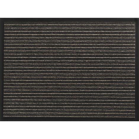Fußmatte gestreift bronze PP L600xB800xS5mm