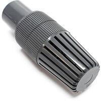 """Fußventil DN40 48,3 mm 1 1/2"""""""" IG Rückschlagventil Kunststoffsaugkorb Ventil Korb"""