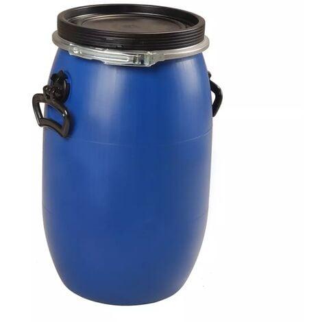 Fut / Bidon 30 litres bleu à ouverture totale