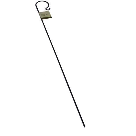 Futterhaken Schäferstock 1m Meisenknödel Laternenhaken Blumenampel Lampenhaken