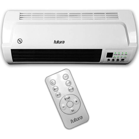 """main image of """"Futura 2000W Fan Heater Over Door Air Curtain Heater Week Timer & Remote"""""""