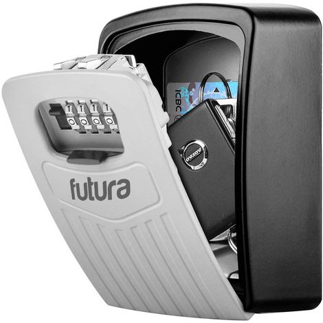 Futura Key Lock Box Key Safe [Large Size] Wall Mounted 145 x 105 x 50 mm (Large Key Safe)