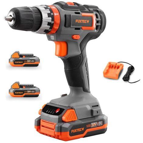 FUXTEC 20V cordless impact drill/driver - kit E1SBS20