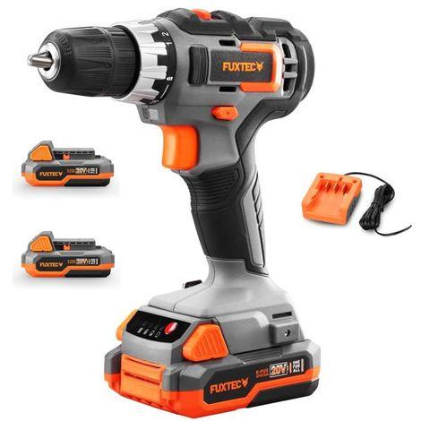FUXTEC 20V cordless screwdriver- kit E1BS20