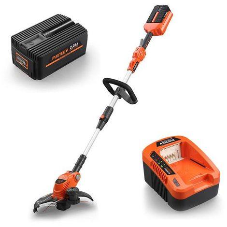 FUXTEC 40V cordless gras trimmer / brush cutter - kit E312D