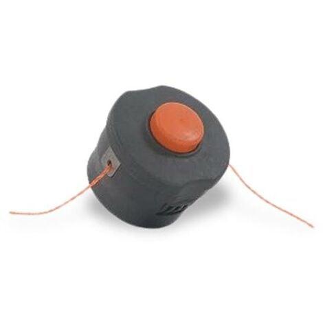 FUXTEC - Tête de coupe avec fil nylon de rechange débroussailleuse / coupe-herbe E312D