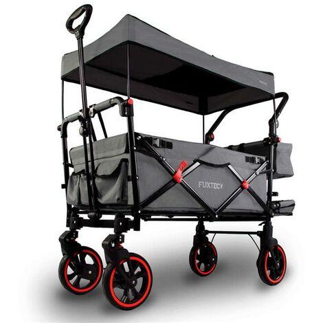 """main image of """"Carrello pieghevole premium passeggino per trasporto bambini spesa FUXTEC CT850"""""""