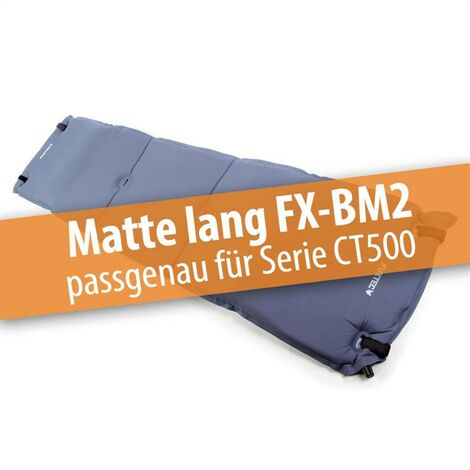 FUXTEC - Matelas FX-BM2 chariot de transport pliable