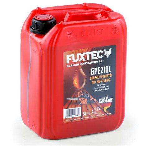 FUXTEC Sägekettenhaftöl mit Haftzusatz Kettenöl 5 L