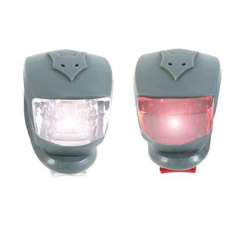 FUXTEC - Set de feu / phare LED chariot de transport pliable