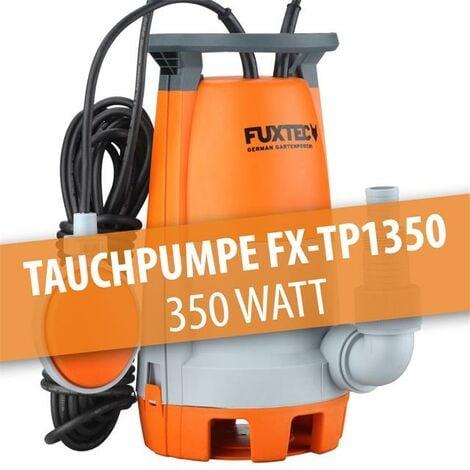 FUXTEC Tauchpumpe FX-TP1350 - 350 Watt