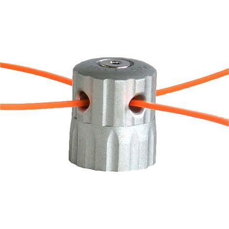 FUXTEC - Tête de coupe à double fil ronde - ALU NYLON CUT