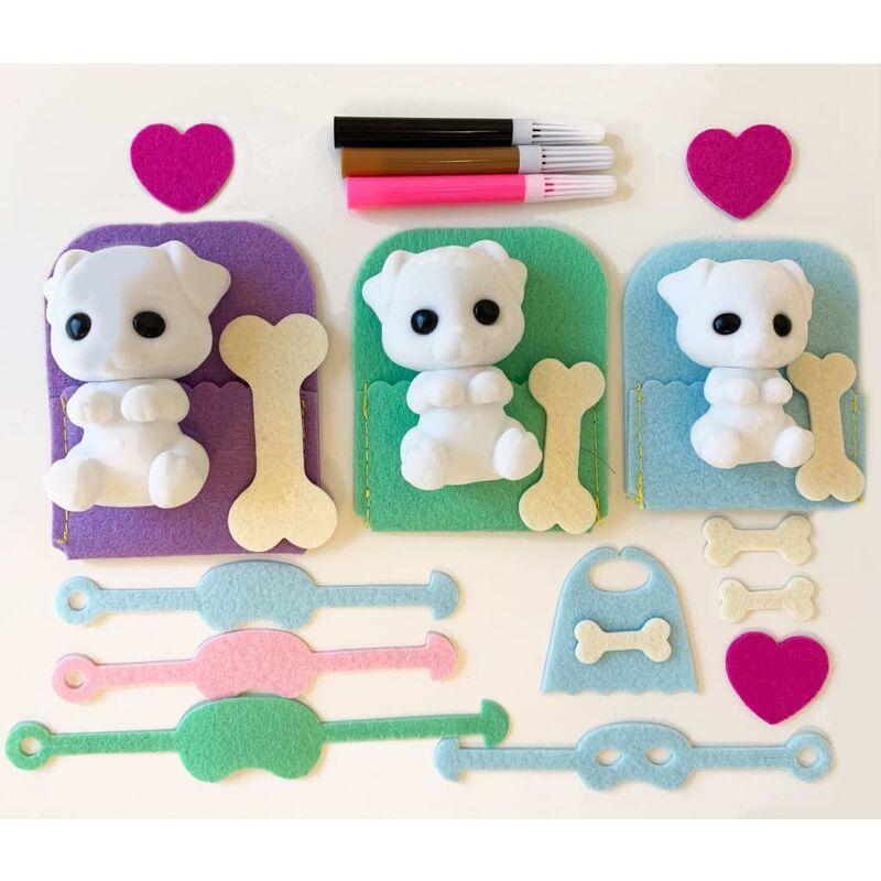 Image of Craft & Play Kit Dogs - Fuzzikins