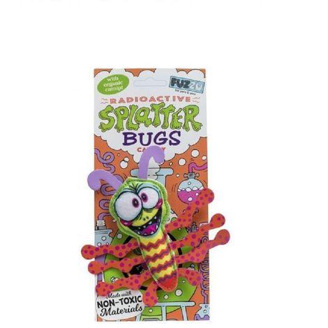 Fuzzu Splatterbugs Blast-O Cat Toy (12 x 12cm) (Multicoloured)