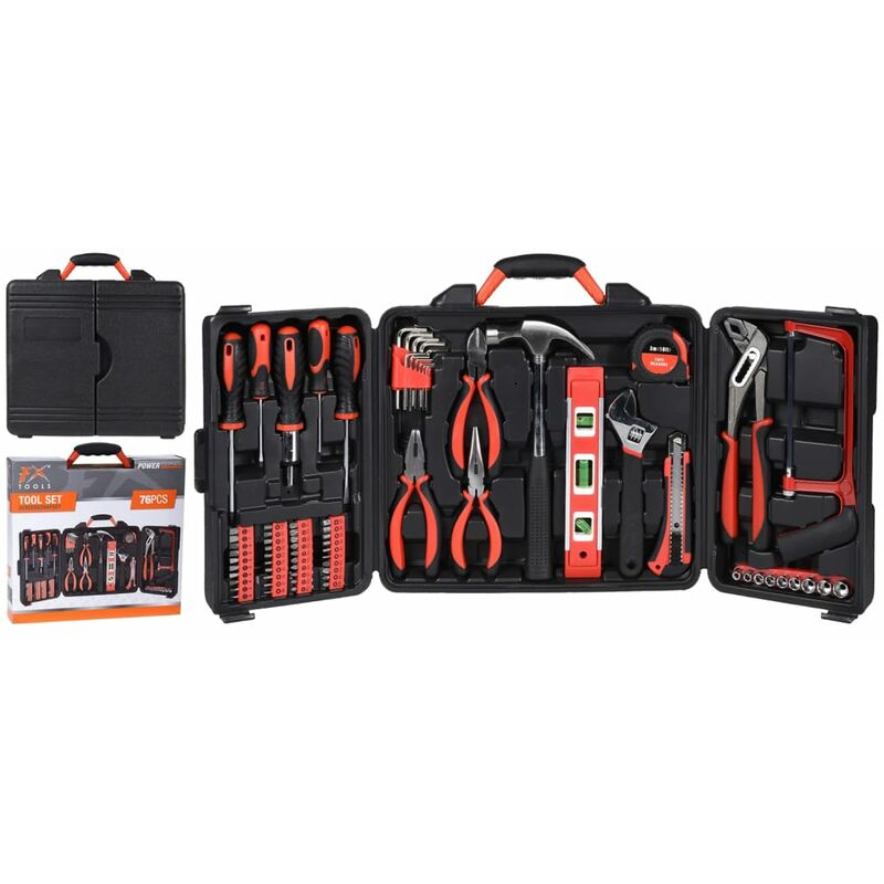 Image of 76 Piece Tool Set - Fx-tools