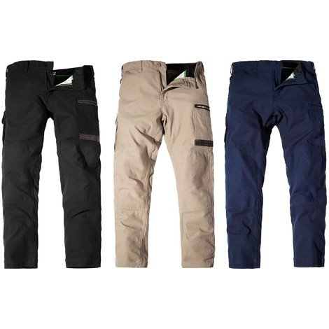 fd95deb5b9 FXD WP3 black, khaki or navy blue slim fit 360 degree stretch work trousers