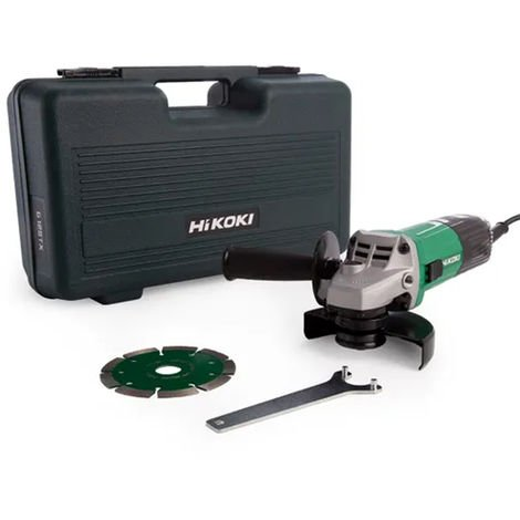 G12SSCD Angle Grinder with Diamond Blade & Case