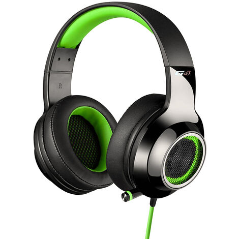 """main image of """"G4 Gaming Headset Casque Pro Gamer Casque Bruit Isole Ultraleger 7.1 Son Stereo Compatible Pc Mac Xboxone Ps4 Nintendo Commutateur, Blanc"""""""