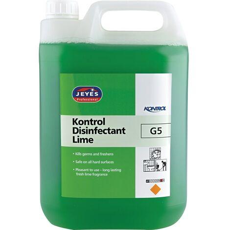 G5 Kontrol Disinfectant Lime 5LTR