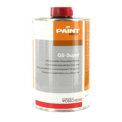 G8-Súper barniz de poliuretano transparente 1L Vosschemie