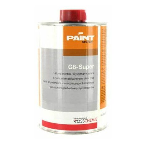 G8-Super vernice poliuretanica trasparente 1L Vosschemie
