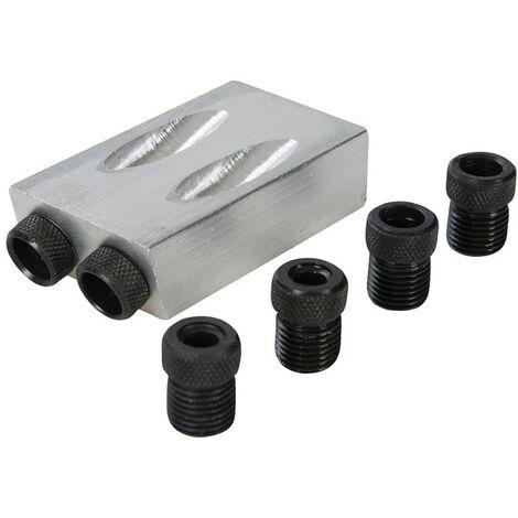 Gabarit de perçage pour vissage oblique 6, 8 et 10 mm