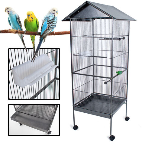 Gabbia Vasca Bagnetto Per Uccelli Pappagallini Bird Supplies