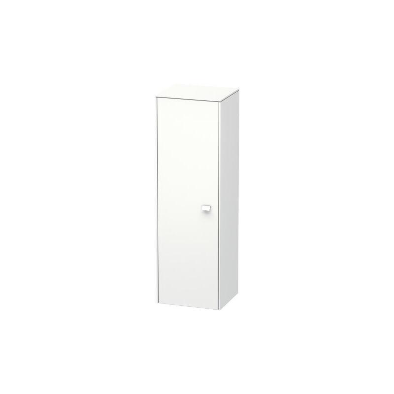 Gabinete de media altura Duravit Brioso 133,0x42,0x36,0 cm, 1 puerta, con bisagra a la derecha, Color frente/cuerpo: Nogal natural, mango cromado