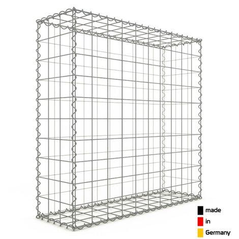 Gabion 100x100x30cm - 3 types de mailles au choix