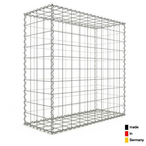 Gabion 100x100x40cm - 3 types de mailles au choix