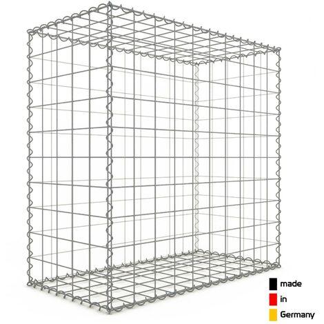 Gabion 100x100x50cm - 3 types de mailles au choix