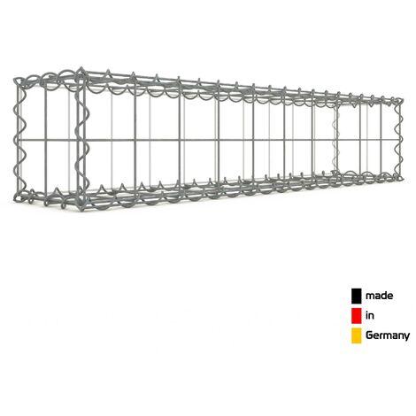 Gabion 100x20x20cm - 3 types de mailles au choix