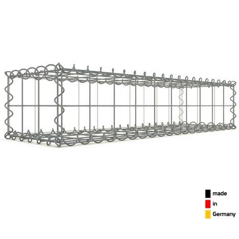 Gabion 100x20x30cm - 3 types de mailles au choix