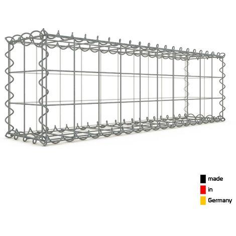 Gabion 100x30x20cm - 3 types de mailles au choix