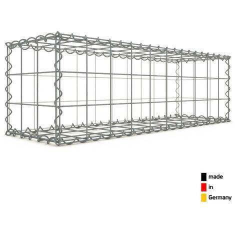 Gabion 100x30x30cm - 3 types de mailles au choix