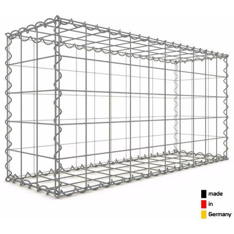 Gabion 100x50x30cm - 3 types de mailles au choix