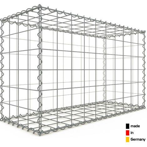 Gabion 100x60x40cm - 3 types de mailles au choix