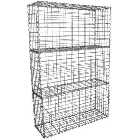 Gabion Baskets 100 x 50 x 30cm / 3 Pack