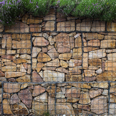 Gabion Baskets 100 x 95 x 30cm / 2 Pack