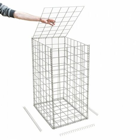 Gabion en kit - 50 cm x 70 cm x 100 cm - différentes mailles disponibles - Rinno Gabion