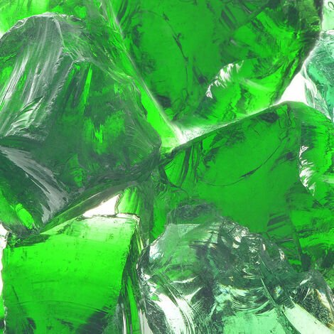 Gabion Rocks Glass Green 60-120 mm 25 kg